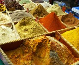 spices in the souk
