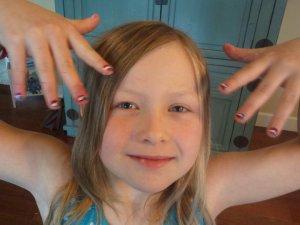 Liv's fingers